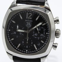 TAG Heuer Monza Steel 38mm Black