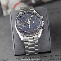 Omega Speedmaster Professional Moonwatch Steel 42mm Blue United States of America, New York, Airmont