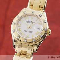 Rolex Lady-Datejust Pearlmaster 29mm Bjel
