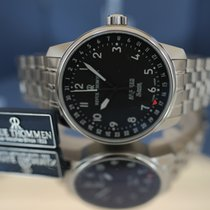 Revue Thommen Airspeed - X Large Revue Thommen Swiss Made Airspeed Automatik Uhr 16050.2137 Ny Stål 41mm Automatisk