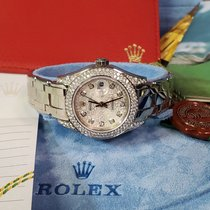 Rolex Lady-Datejust Pearlmaster White gold 29mm Mother of pearl United States of America, California, Los Angeles