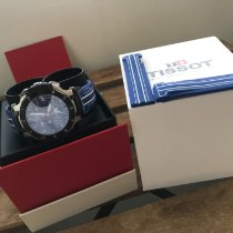 Tissot Stål 44mm Kvarts Tissot men's nicky hayden limited edition t -race blue dial brugt