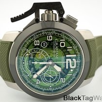 Graham Chronofighter Oversize Steel 47mm Black Arabic numerals United States of America, Florida, Aventura