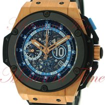 Hublot King Power Rose gold 48mm Black No numerals