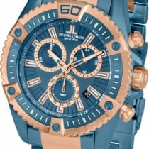 Jacques Lemans Liverpool 1-1805K Herrenchronograph Sehr Sportlich