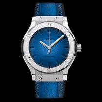 Hublot Classic Fusion Berluti Scritto Blue