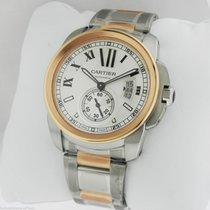 Cartier Calibre de Cartier Auto Steel & Gold W7100036...