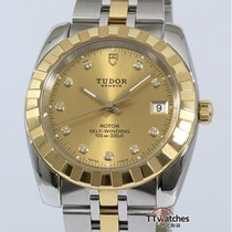 Tudor Classic Date Box Papers Diamond Hour