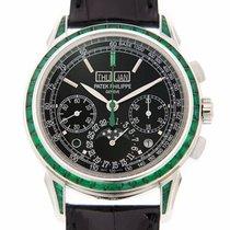 Patek Philippe Perpetual Calendar Chronograph Emerald Baguette