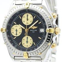 ブライトリング (Breitling) Chronomat 18k Gold Steel Automatic Watch...