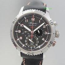 Breguet Type XXII Chronograph Flyback 3880,10HZ Stahl/Leder,...