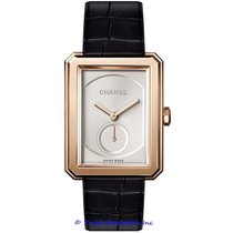 Chanel Rose gold Manual winding Silver 28mm new Boy-Friend