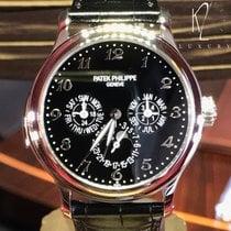 Patek Philippe Minute Repeater Perpetual Calendar Platin 42mm Schwarz Schweiz, Geneva