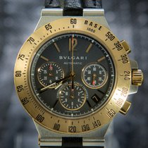 Bulgari Bvlgari Diagono Professional Chronograph Gold & Steel...