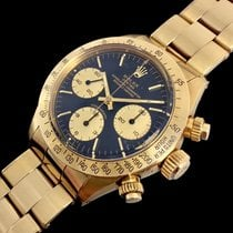 Rolex Daytona 6265 Very good Yellow gold 37mm Manual winding