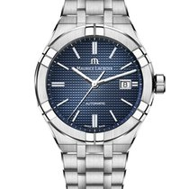 Maurice Lacroix AIKON Staal 42mm Blauw