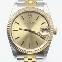 Tudor 34mm pre-owned Prince Oysterdate