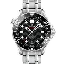 Omega Seamaster Diver 300 M neu Automatik Uhr mit Original-Box und Original-Papieren 210.30.42.20.01.001