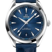 Omega 220.13.41.21.03.001 Steel Seamaster Aqua Terra 41mm new