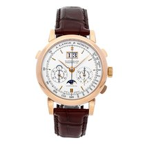 A. Lange & Söhne Rose gold 41mm Manual winding 410.032E pre-owned