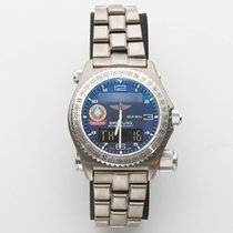 Breitling Emergency Titanium 43mm Blue Arabic numerals United States of America, California, Los Angeles