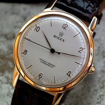 Rolex Or rose Remontage manuel Arabes 36mm occasion Oyster Precision