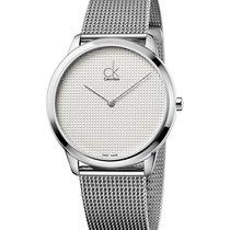 ck Calvin Klein Ατσάλι 40mm Χαλαζίας K3M2112Y καινούριο