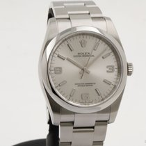 Rolex Oyster Perpetual 36 Acero 36mm Gris Árabes