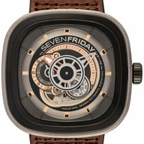 Sevenfriday P2-1 Steel 47mm Grey