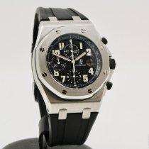 Audemars Piguet Royal Oak Offshore Chronograph Acero 42mm Negro Árabes