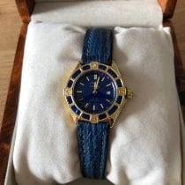 Breitling Lady J Gelbgold 31mm Blau Keine Ziffern