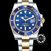 Rolex Submariner Date Gold/Steel 40mm Blue No numerals United States of America, New York, New York