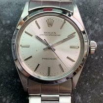 Rolex Oyster Precision Steel 30mm Silver
