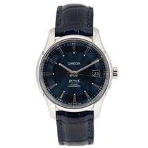 Omega Acier Remontage automatique Bleu Sans chiffres 41mm occasion De Ville Hour Vision
