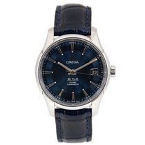 Omega De Ville Hour Vision Steel 41mm Blue No numerals