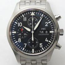 IWC Pilot Chronograph подержанные 42mm Хронограф Сталь