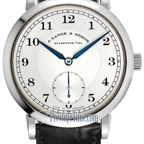 A. Lange & Söhne 1815 White gold 38.5mm Silver United States of America, New York, Airmont