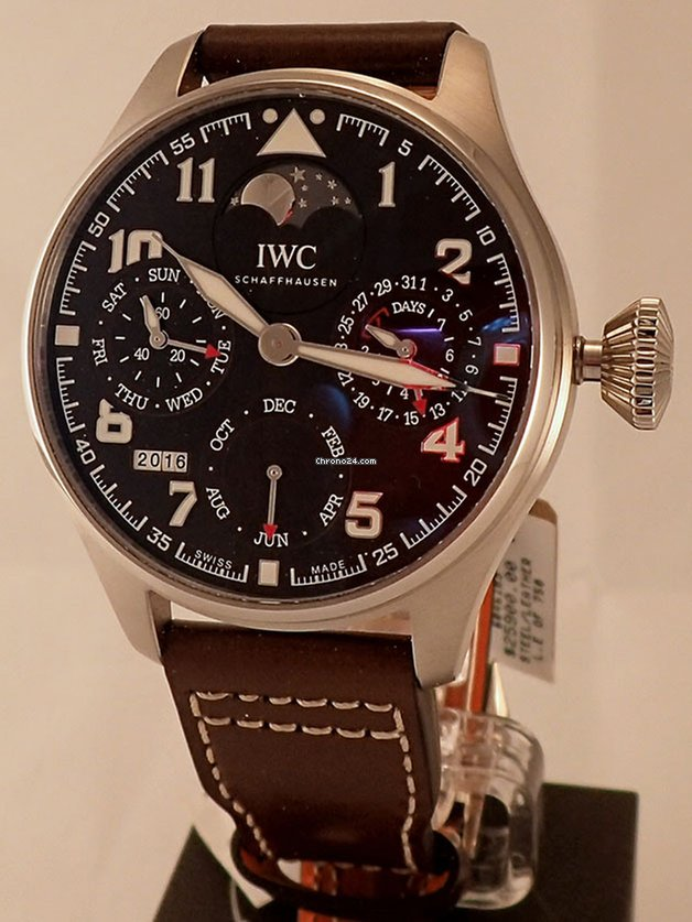 7aad35b91368 IWC Big Pilot Antoine De Saint Exupery Perpetual Calendar IW5038 for   18