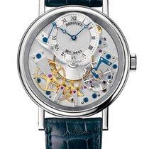 宝玑 Brequet Tradition 7057 18K White Gold Men's Watch