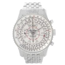Breitling Navitimer Montbrillant Datora Silver Dial Watch A21330