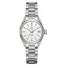 TAG Heuer Carrera 28mm Date Automatic Ladies Watch WAR2411.BA0776