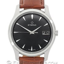 Eterna Vaughan Steel 42mm Black