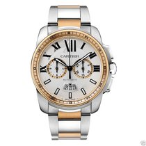 Cartier Calibre de Cartier Chronograph W7100042 Steel &...