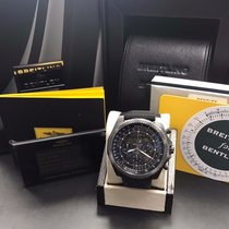 Breitling Bentley 6.75 Midnight Carbon Steel M44364 Limited...