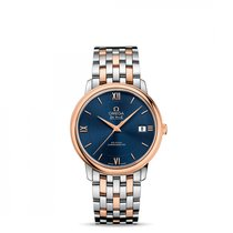 Omega De Ville Prestige Co Axial Stainless Steel -  Red Gold ...