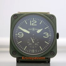 Bell & Ross BR S Heritage Military Olive Green 39mm