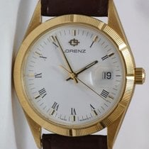 Lorenz Yellow gold 33mm Quartz pre-owned