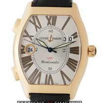 Ulysse Nardin Michelangelo Rose gold 38mm Silver United States of America, New York, New York
