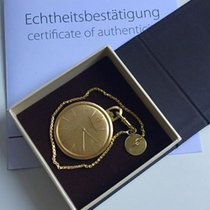 Chopard pocket watch with original Chatelaine pendant - gold...
