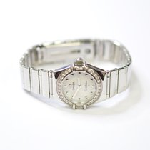 Omega Constellation 24mm Stainless Steel Ladies Watch With...